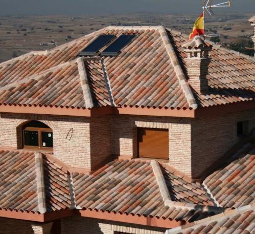 Teja Mixta Tb 10 Centenaria 174 Tierra Colorful Roof Tiles
