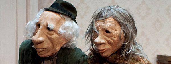 'André y Doriné', el alzheimer contado con el lenguaje universal de máscaras