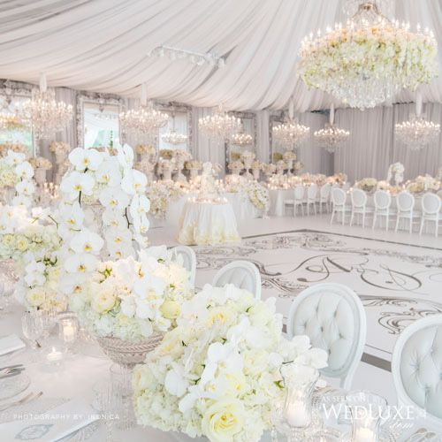 Evening Wedding Reception Decoration Ideas: @allaboutposh #allaboutposh