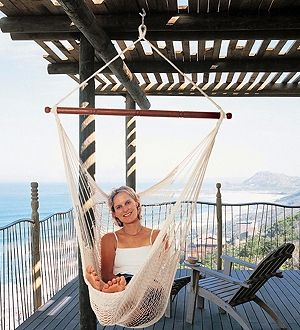 Chair Hammock, Good For A Small Deck.