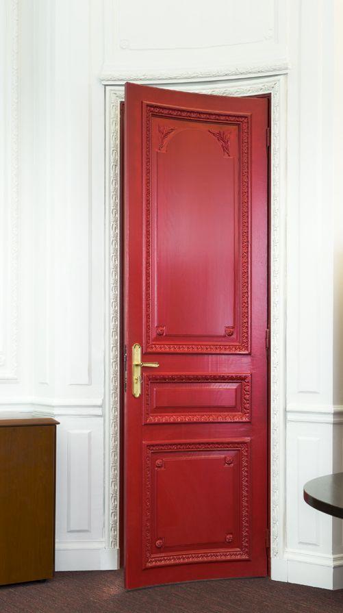 Porte Haussmannienne porte haussmannienne cintrée, fabriquée dans nos ateliers. www
