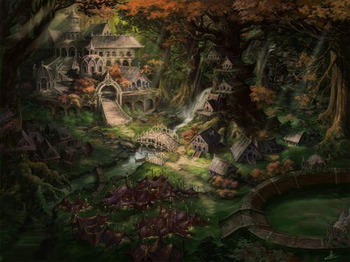 39++ Elven woods info