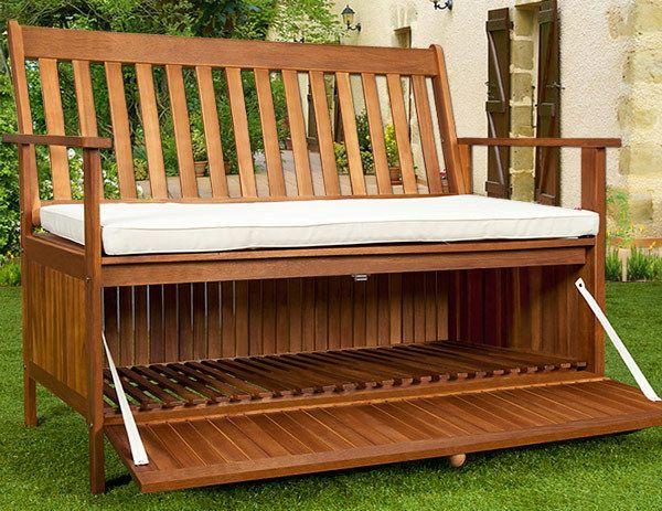 Cassapanca panca da giardino cucina arredo da esterno pinterest - Cassapanca legno da esterno ...