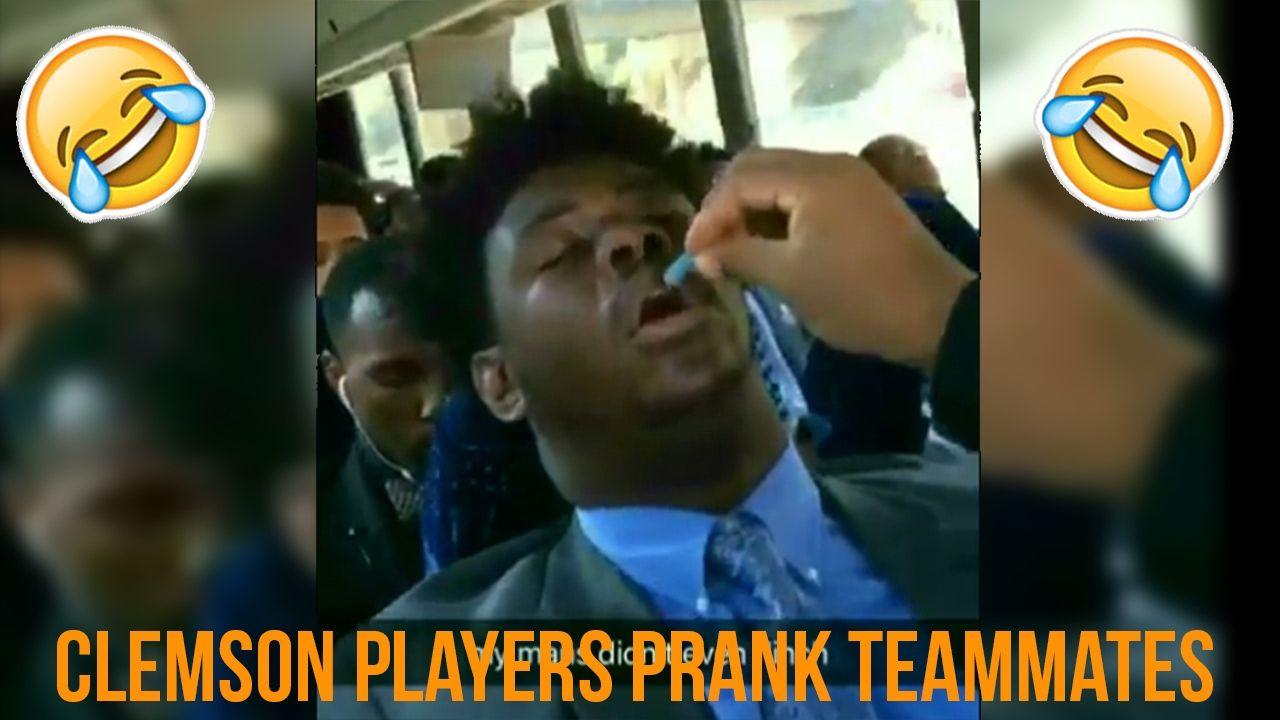 Clemson Players Prank Teammates By Feeding Them Sour Patch Kids In Their Sleep Video Sour Patch Kids Sour Patch Pranks