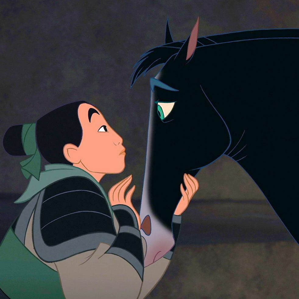 Uncategorized Horse From Mulan ok horse lovers and disney fans what breed of is khan i cannot
