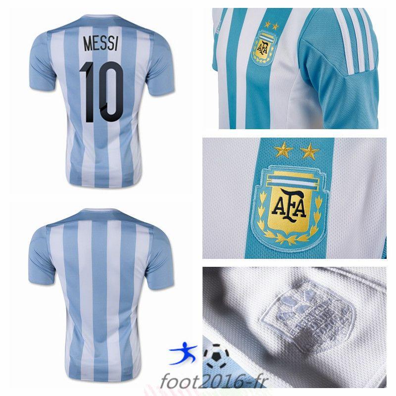 La Boutique Officielle Maillot Foot Equipe De Argentine Messi 10 Domicile 2015 2016 En Ligne