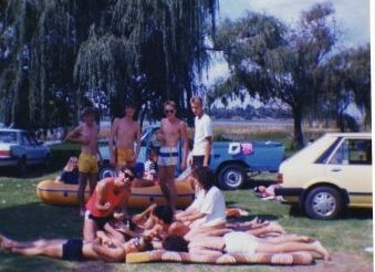 Murray park with the gang 1989