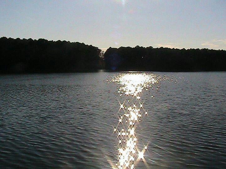 The pond/lake thing at Hoffler Creek
