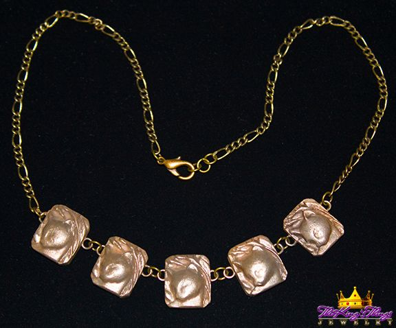 1-1. Five Cats Necklace - Bronze 18 inch-main Our new runway jewelry on ETSY: https://www.etsy.com/shop/TheKingsThings
