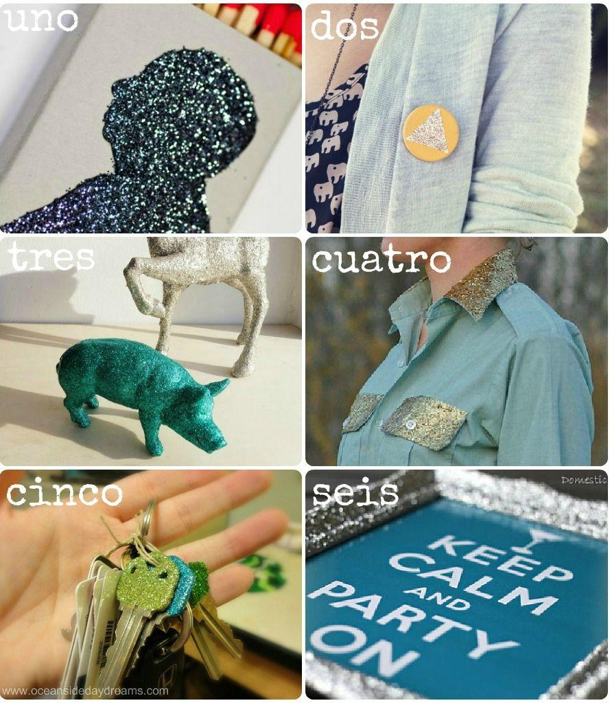 Cacería de DIYs: Escarcha. Glitter DIY. Purpurina.