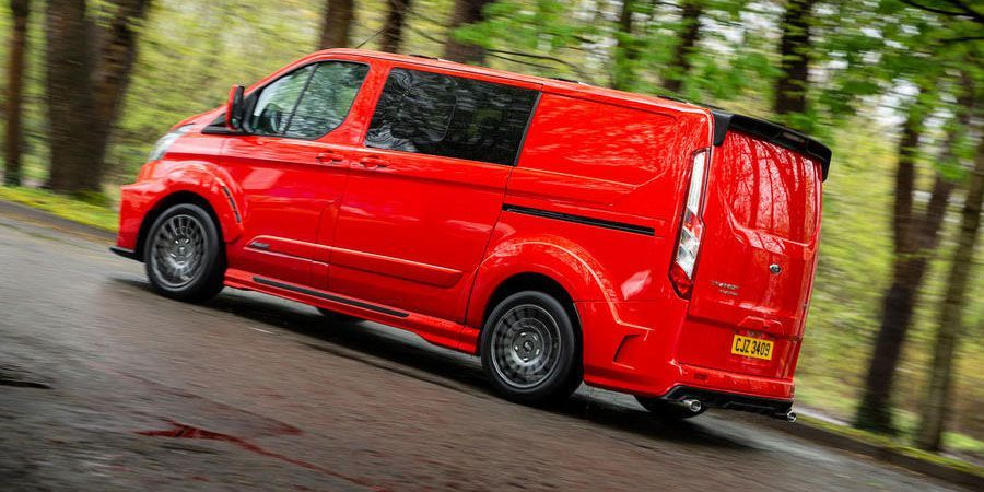 You Can Buy This Sporty Ford Transit Custom For The Uk Ford