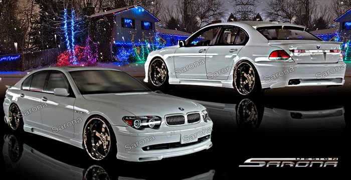 Sarona Bmw 7 Series Sarona Body Kit Bm 025 Kt Bmw Bmw 7