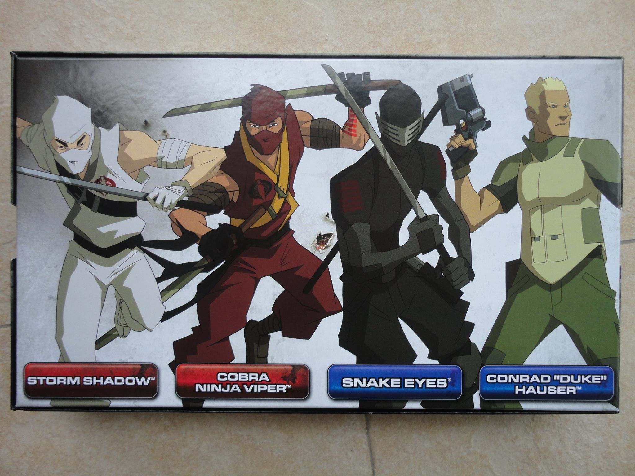 G.I Joe Renegades Pack Action Figures
