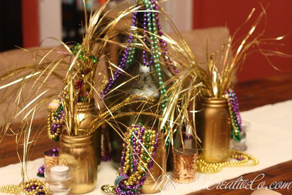 Customer Party-Mardi Gras Party & The Flair Exchange | Mardi gras Mardi gras decorations and Birthdays