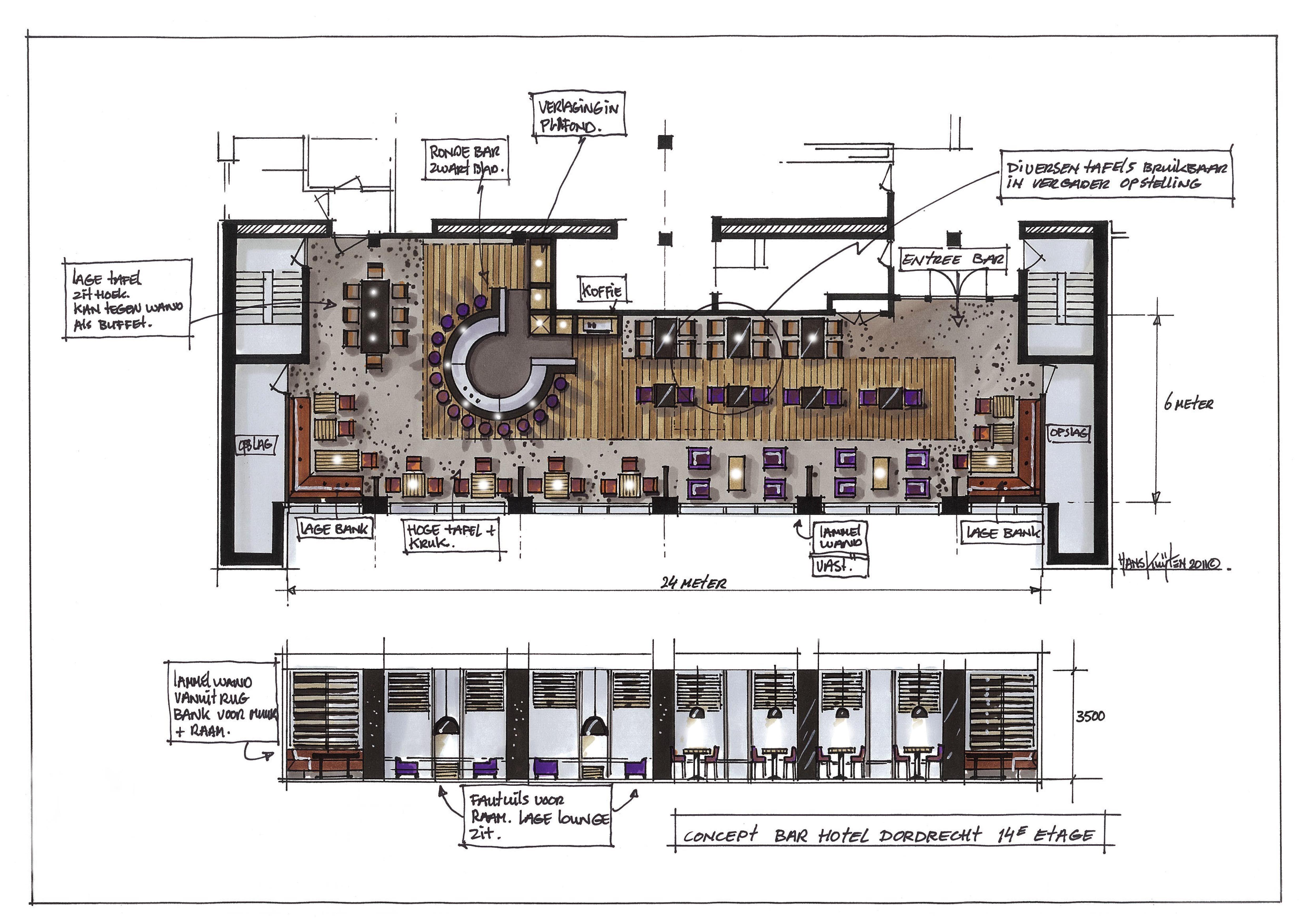 hans kuijten » projecten   architectural presentation • diagram