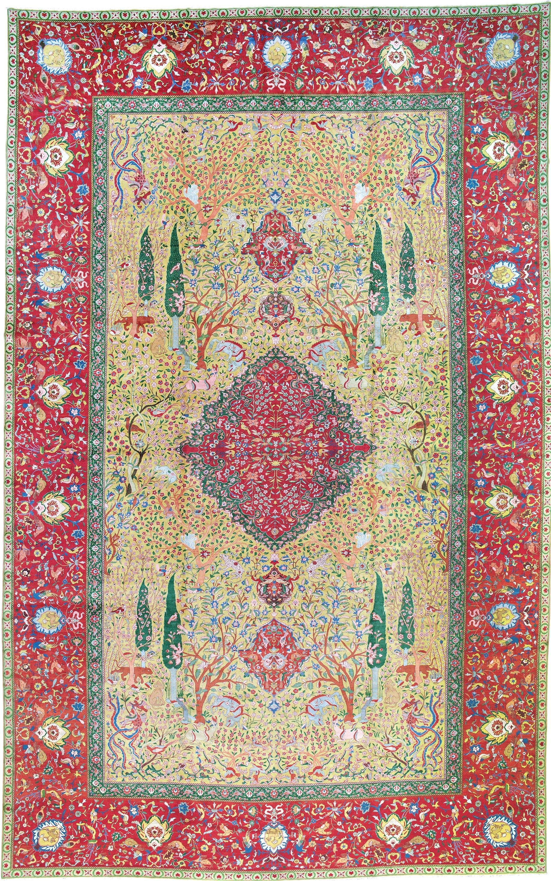 Petag Tabriz Rug Owned By Heinrich Jacob President Of The Petag