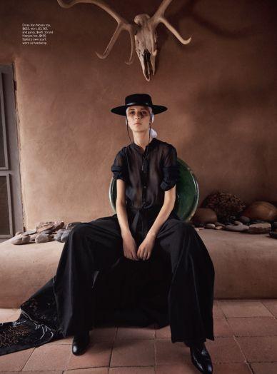 e74d0314882e48 MAP - News – Will Davidson Shoots Fashion at Georgia O'Keeffe's Home for Vogue  Australia