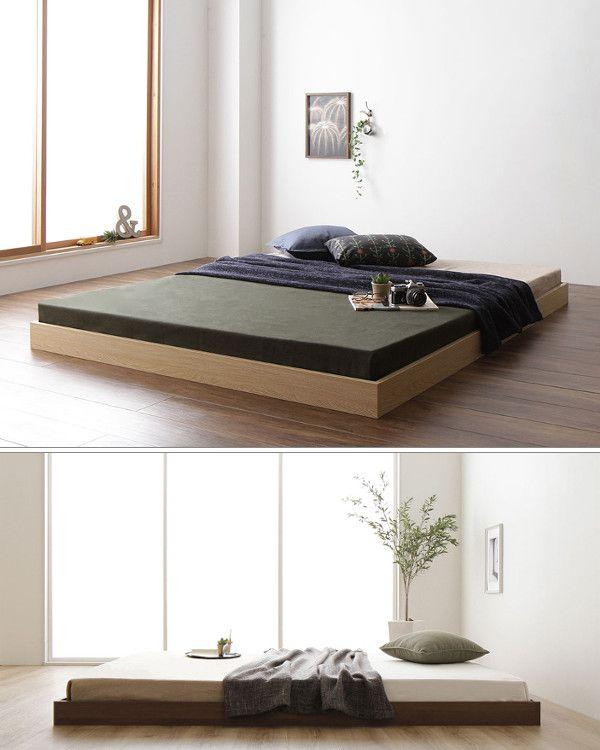 家計に優しい 賢い夫婦のローベッド 和みの家具カタログ ローベッド インテリア 家具 ベッド