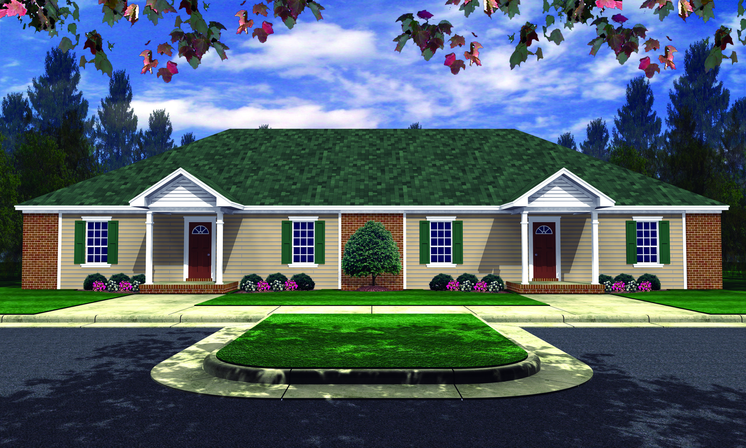 Plan 5103MM Spacious Three Bedroom Duplex (With images