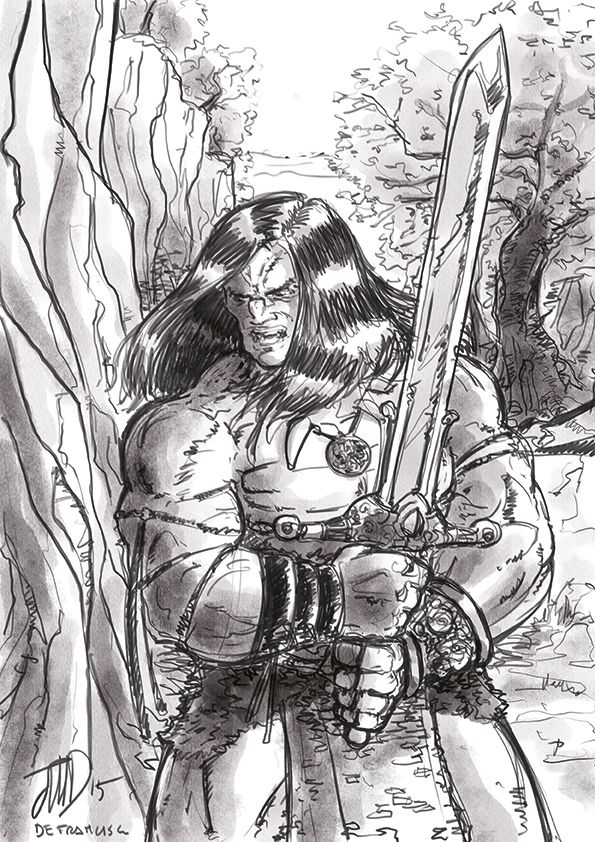Conan The Barbarian: Tribute to John Buscema
