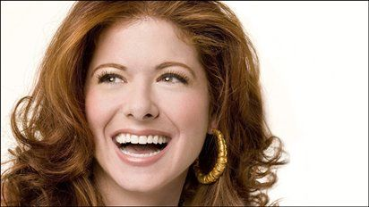 Debra Messing: The most beautiful and hilarious woman.