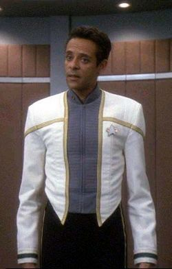 Dr. Julian Bashir from Star Trek: Deep Space Nine.