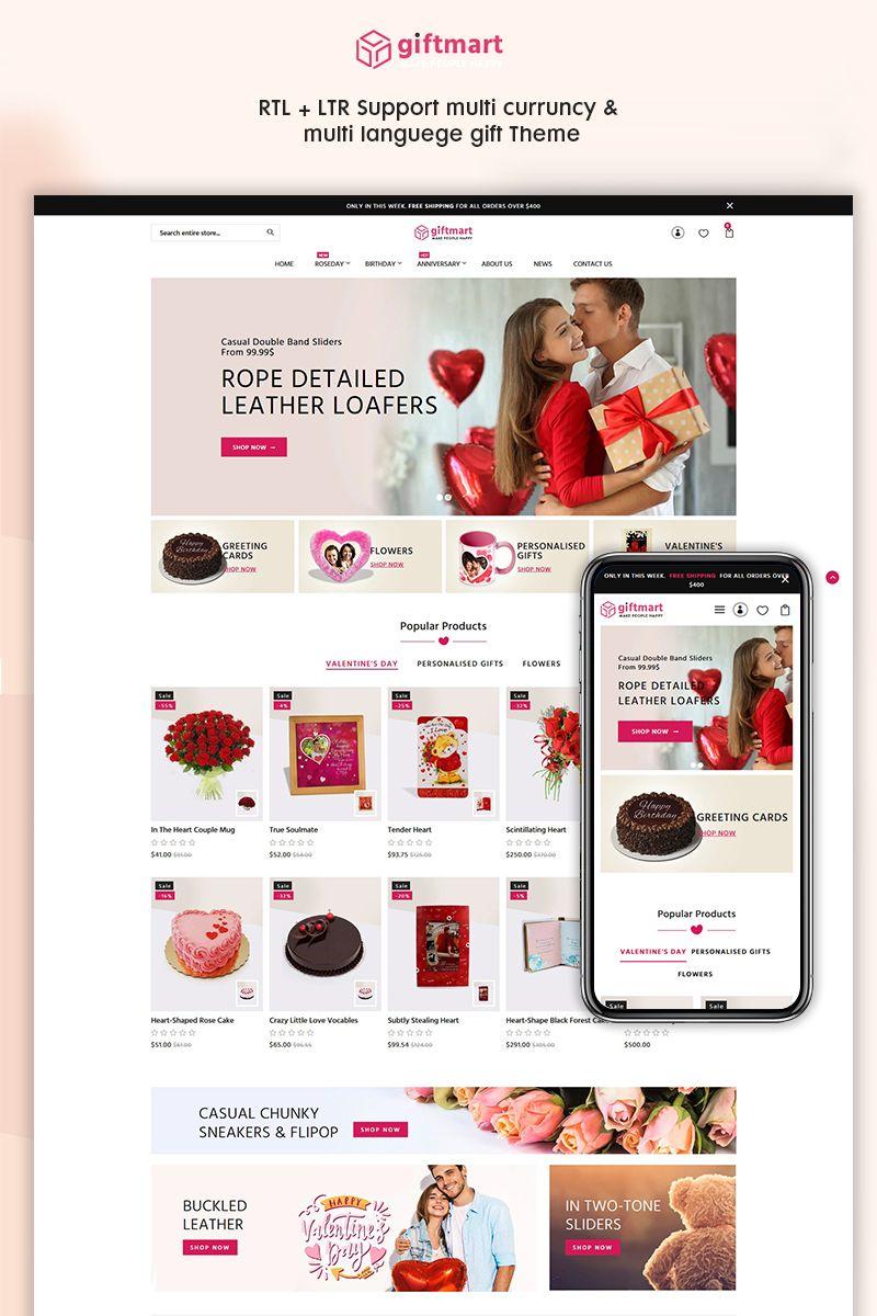 Giftmart The Gift Fashion Responsive Premium Shopify Templates Shopify Templates Shopify Theme Ecommerce Template