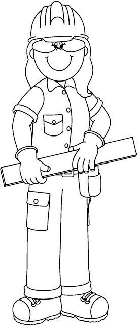 Carpintero Digistamp Community Helpers Worksheets