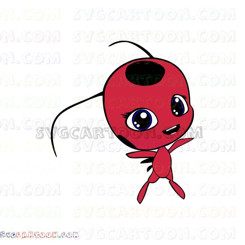 Tikki Miraculous Ladybug Svg Dxf Eps Pdf Png Tikki Miraculous Miraculous Ladybug Ladybug