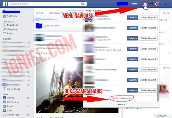Script Auto Confirm All Friend Requests Facebook  Tanpa