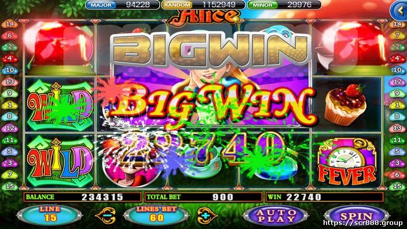 SCR 918Kiss Big Win