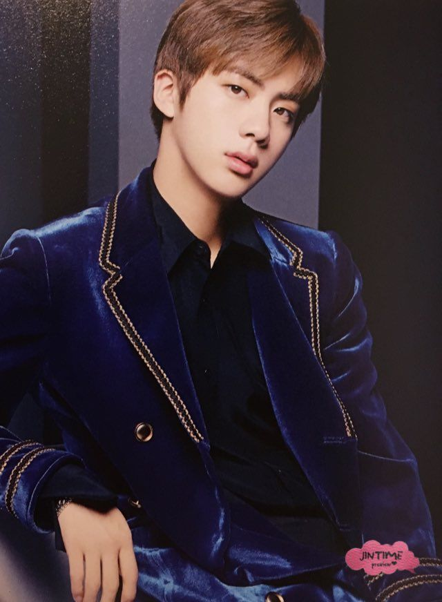 Jin No Photoshoot De Blood Sweat And Tears Japanese Version