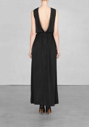 Cupro Maxi Dress Cupro Maxi Dress Other Stories Dresses Maxi Dress Full Length Dress