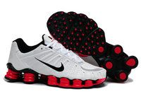 high fashion shades of lower price with chaussures nike shox tl homme (blanc/noir/rouge) pas cher en ligne ...
