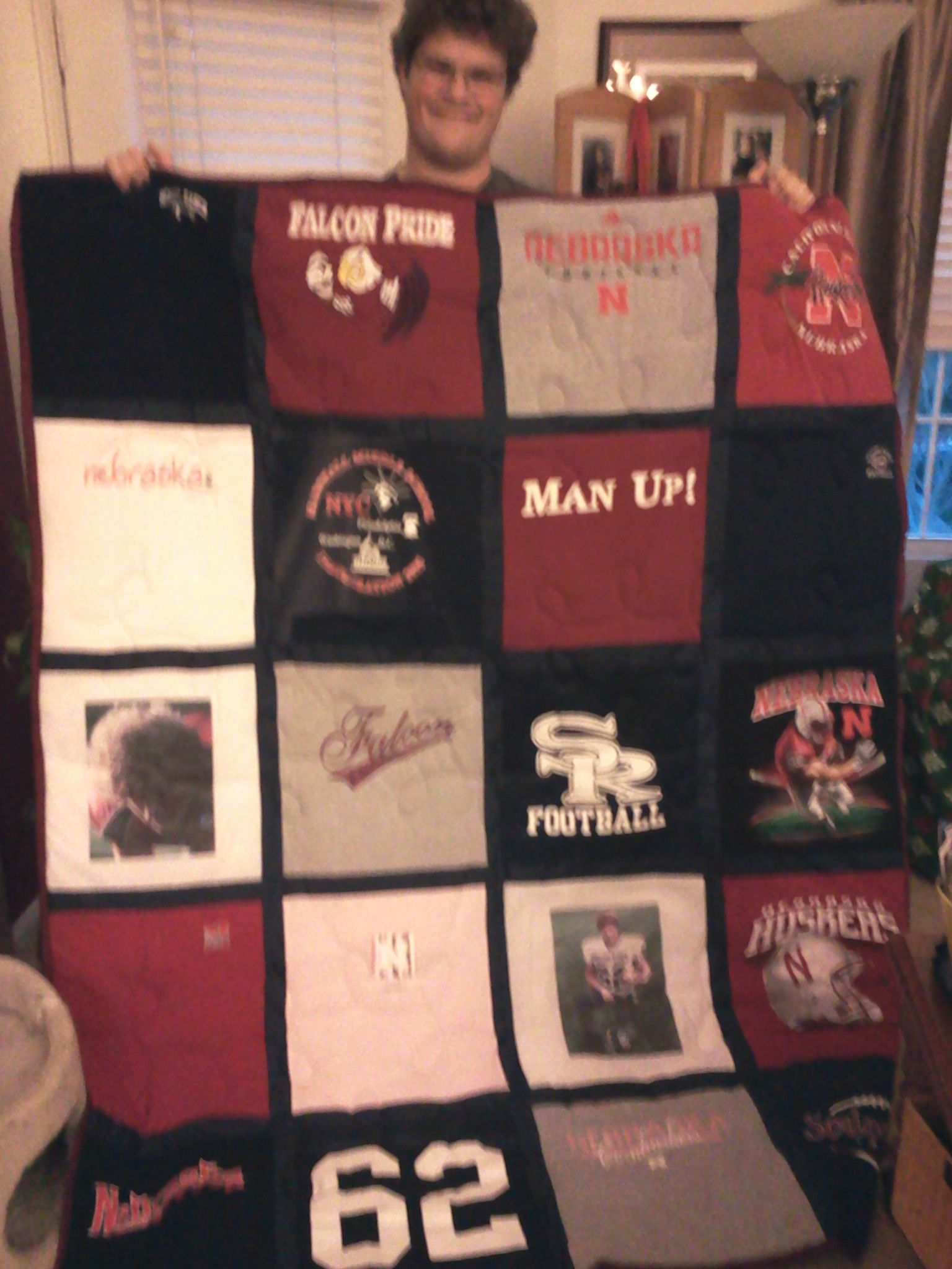 The Quilt Loft My Son Was Ready To Give Away All Of His High