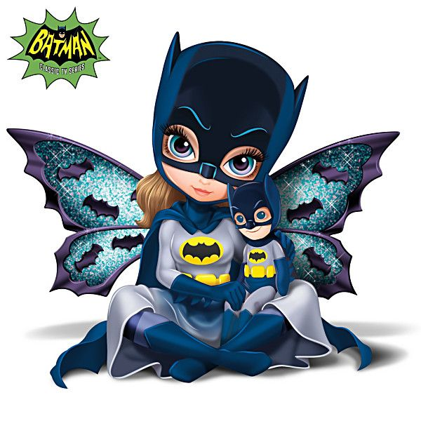 Jasmine becket griffith batman figurine fairies for Batman fairy door