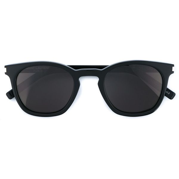 SAINT LAURENT Acetate Sunglasses (1.020 BRL) ❤ liked on Polyvore featuring  accessories, eyewear · Óculos De Sol ... c92b789e73