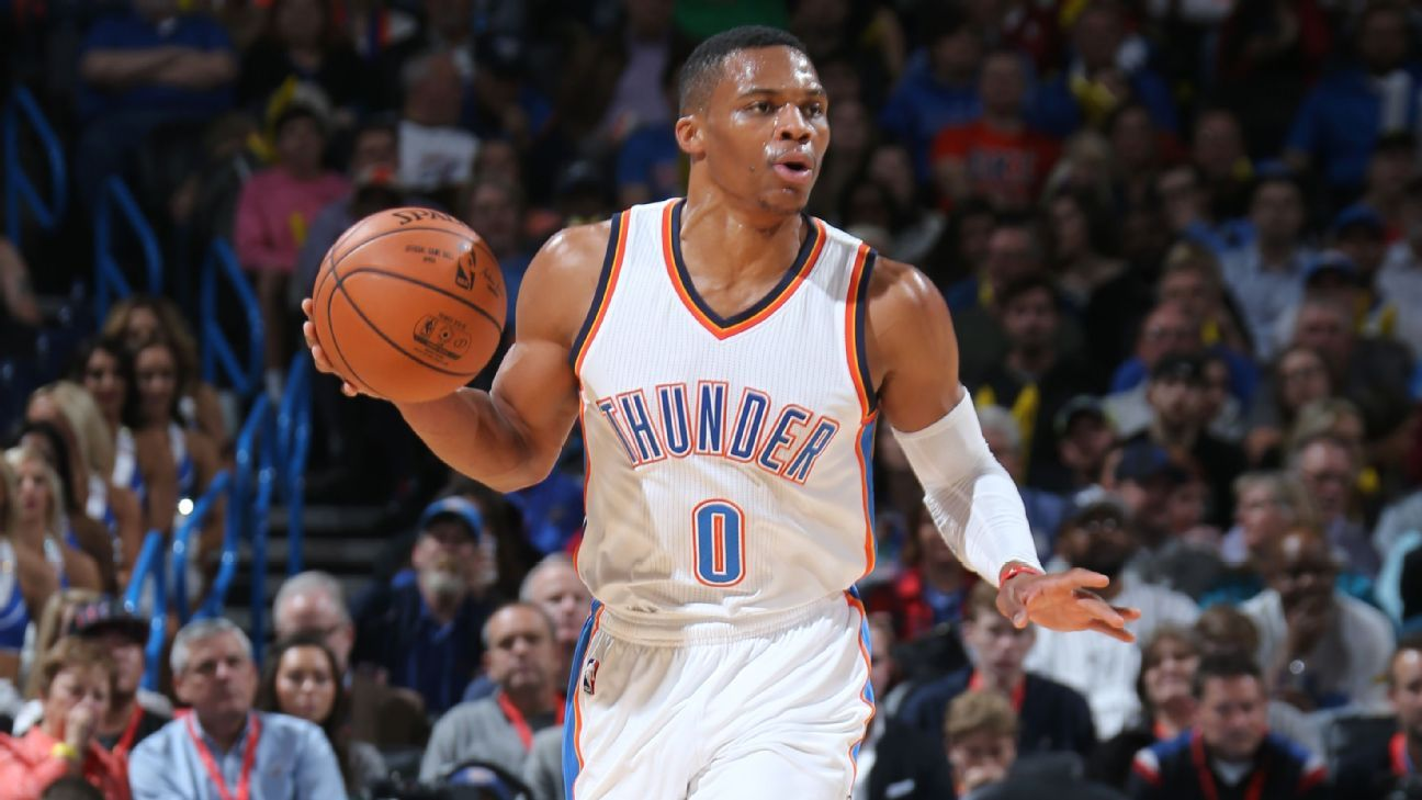 Russell Westbrook lifts the Thunder... again Nba
