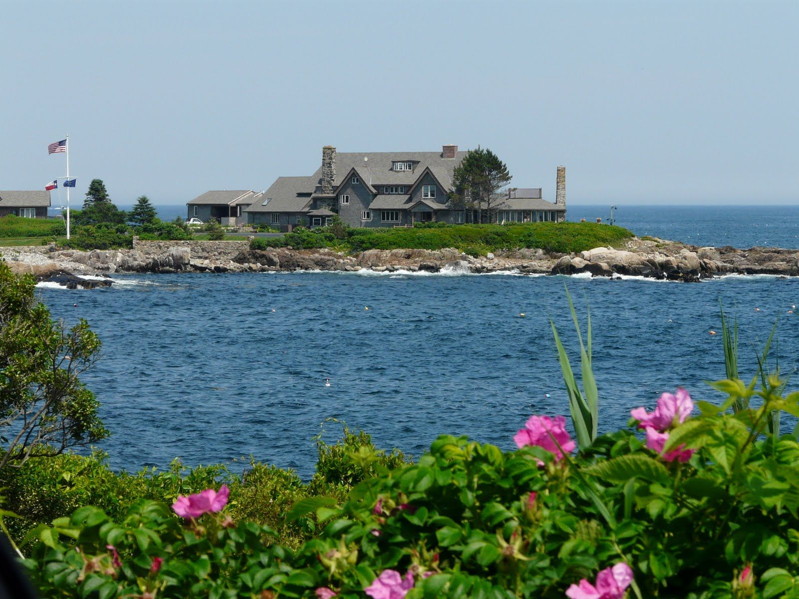 The Bush Compound Kennebunkport Maine Kennebunkport New England Maine