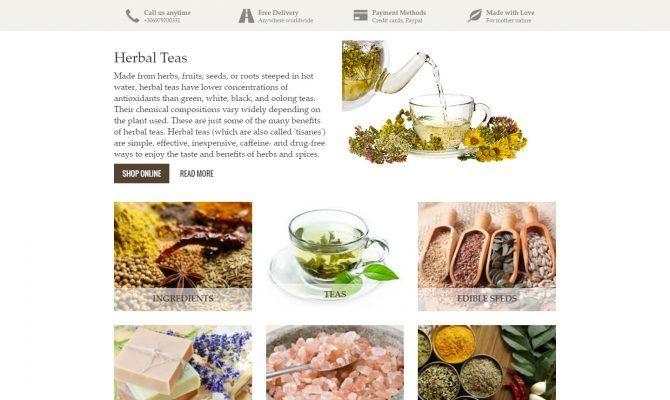 Το YouHerbit είναι μια ιστοσελίδα όπου μπορείτε να βρείτε μεγάλη ποικιλία από ροφήματα, μπαχάρια και υπερτροφές. Με έδρα την Ελλάδα, η εταιρία εξυπηρετεί καταναλωτές στο εξωτερικό.
