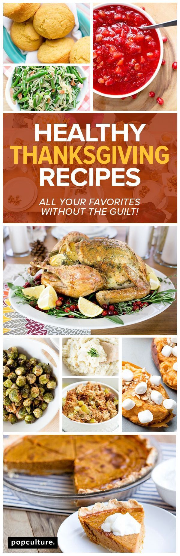 Classic Thanksgiving Menu Made Healthy in 2020 (With ...