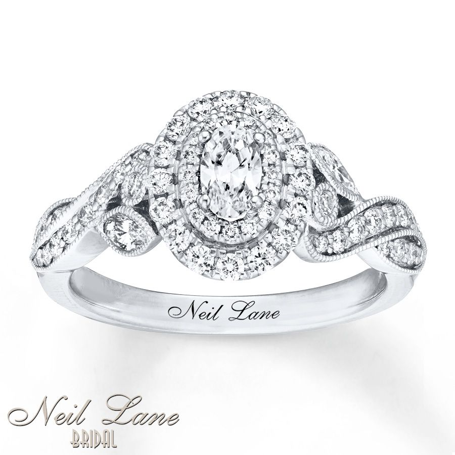 Vintage Inspired This Lovely Engagement Ring From The Neil Lane BridalR Collection Features