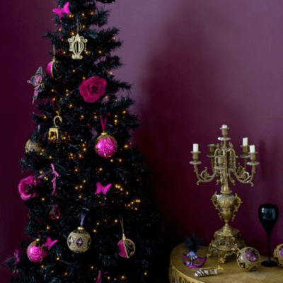 gothic christmas decoration ideas