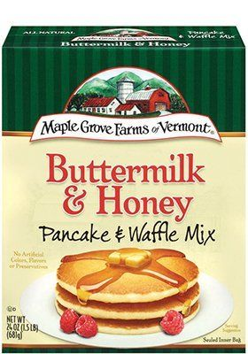 Maple Grove Farms Organics Pancake Mix Buttermilk Honey 160 OZ Pack of 6 ** Click image for more details.