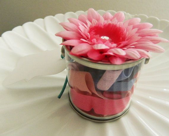 15 Hair tie JarParty favor by LilTotWonder on Etsy, $12.50
