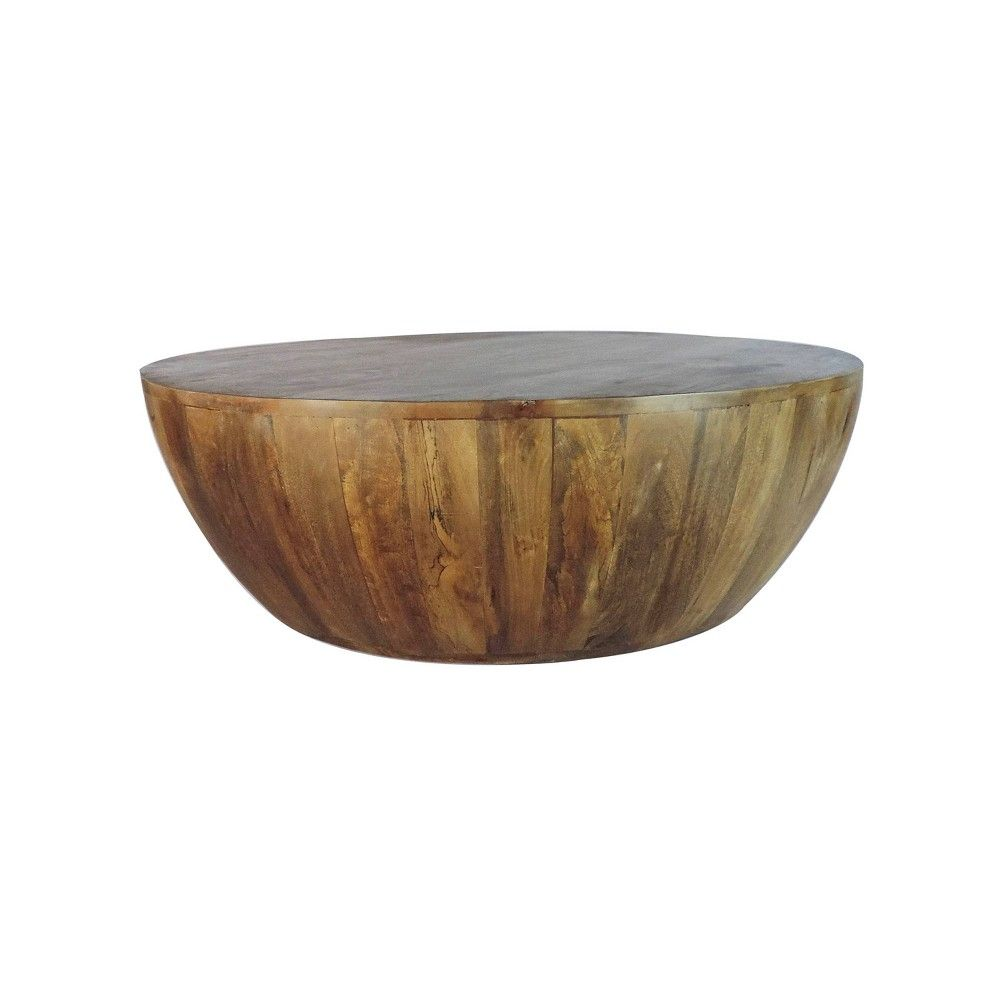 Mango Wood Coffee Table Antique Brown The Urban Port Drum Coffee Table Coffee Table Wood Coffee Table [ 1000 x 1000 Pixel ]