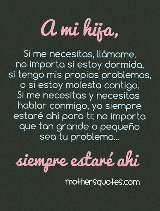 A Mi Hija Frases Daughter Son Quotes Y To My Daughter