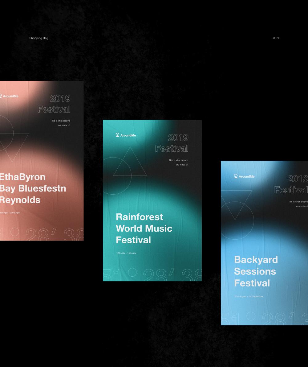 Behance Dlya Vas Website Design Branding Rainforest World Music Festival