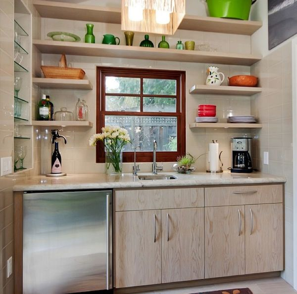 Beautiful Kitchen Open Shelving Idea