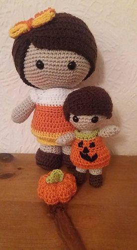 Ravelry: Weebee & Little Weebee Halloween Bubble Dresses pattern by ...
